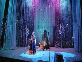 Начало развития театра в России